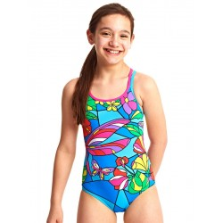 Zoggs - Swimsuit - Junior - Dragonfly Duo Back - Multi