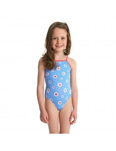 Zoggs - Swimsuit - Kids - Holiday Yaroomba Floral - Blue/Multi