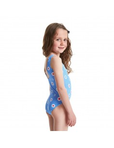 Zoggs - Swimsuit - Kids - Holiday Scoopback - Blue/Multi