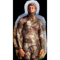 Omer Lycra - Real 3D Camo - Long Shirt