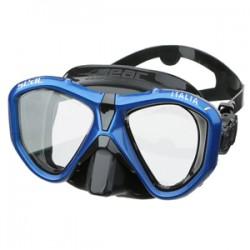 Seac Mask - Italia - Blue Metal Frame/Black Silicone