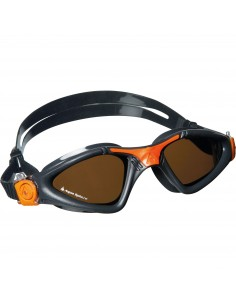 Aquasphere Swim Goggle - Kayenne - Grey/Orange/Polarised
