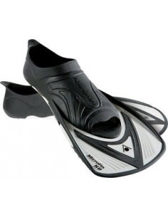 Aquasphere Training Fin - Micro Fin HP - Black/White