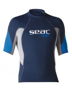 SEAC RAA Short Sleeve EVO Rash Vest - Man