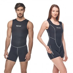 Seac Undervest/short one piece - Man - 3mm
