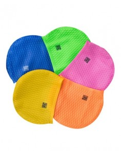 Swim Secure Large Volume Silicone Swim Cap - Various Colours