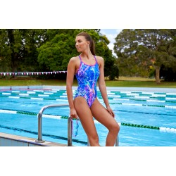 Funkita - Swimsuit - Ladies - Marble Moon - Diamond Back One Piece