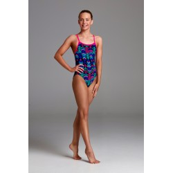 Funkita - Swimsuit - Girls - Feather Duster - Single Strap One Piece