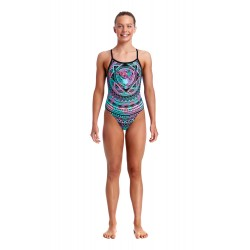 Funkita - Swimsuit - Girls - Crown Princess - Single Strap One Piece