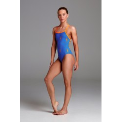 Funkita - Swimsuit - Girls - Ocean Swim - Strapped in One Piece