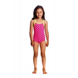 Funkita - Swimsuit - Toddler - Printed One Piece -Daisy Dots