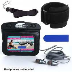 Swim Cell Waterproof Case - MP3 Case with Head Phone Jack