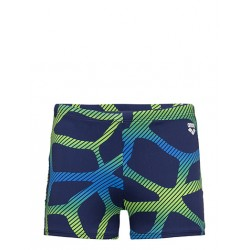 Arena - Swim - Mens - Spider Short - Navy/Leaf
