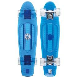 "Osprey - Skateboard - Retro Blue 22.5"" Plastic Cruiser"