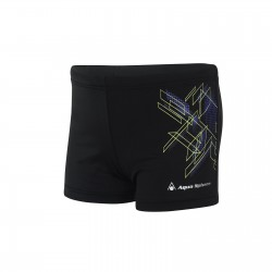Aquasphere Swim Short - Kids - Yoshi - Black/Purple