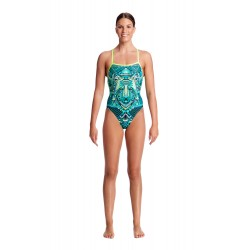 Funkita - Swimsuit - Ladies - Wear Wolf - Strapped in One Piece