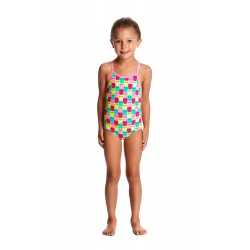 Funkita - Swimsuit - Toddler - Printed One Piece -Minty Mittens