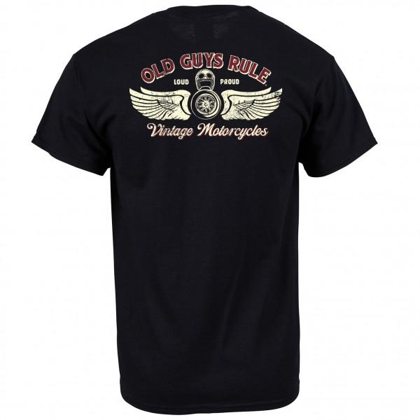 Old Guys Rule - Tee - Vintage Motorcycles