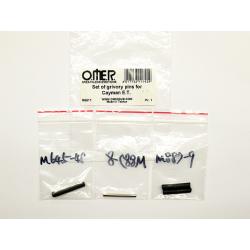 Omer Grivory Pins Set - Cayman ET