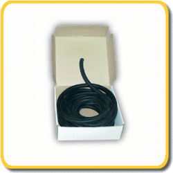 Imersion Latex Tubing - 18mm - Black