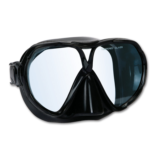 imersion mask barra black silicone clear lenses apnea. Black Bedroom Furniture Sets. Home Design Ideas