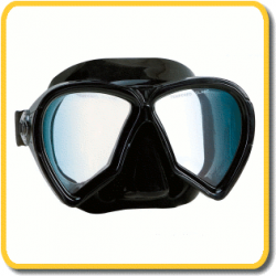 Imersion Mask - Pelagic - Black Silicone / Clear Lenses