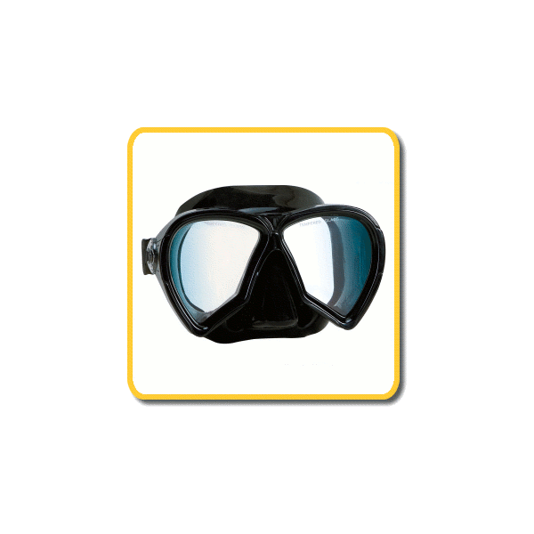 imersion mask pelagic black silicone clear lenses apnea. Black Bedroom Furniture Sets. Home Design Ideas