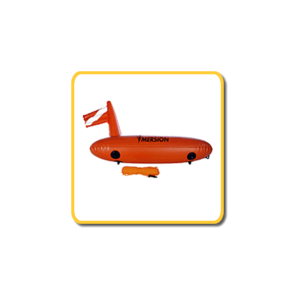 Imersion Buoy/Float - Torpedo and goody bag