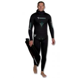 Imersion Wetsuit - Seriole Black - 8.5mm (Jacket + High Waist Pant)