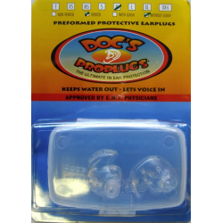Docs Ear ProPlugs - Vented - WITHOUT Leash