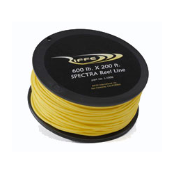 Riffe Reel Line - Spectra (yellow) 600lb - 200ft (approx. 65 metres)