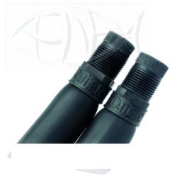 Cressi Bands - 16mm Latex - Black (pair)