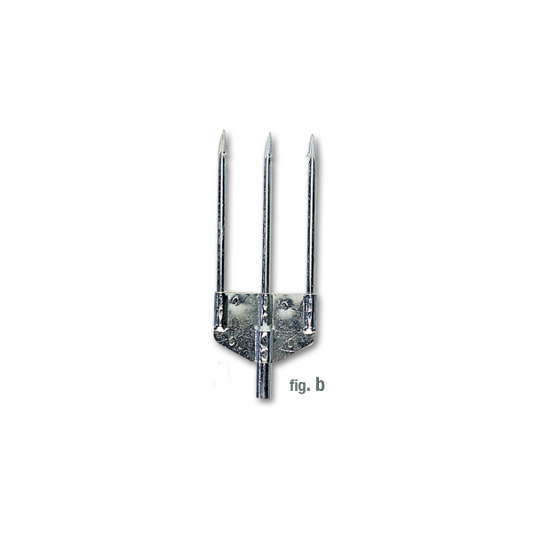 Imersion 3 Prong (Trident) Head - galvanised