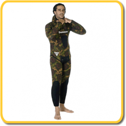 Imersion Wetsuit - Seriole Camo - 7.0mm (L/J ONLY)