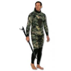 Imersion Wetsuit - Seriole Camo - Super Stretch 5mm (Jacket + Long-John Pant)
