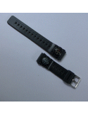 Drifft Spare Watch strap - 20mm standard Diving pvc watch strap with mini compass
