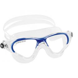 Cressi Cobra Swim Mask - Clear/Blue