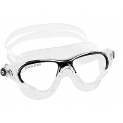 Cressi Cobra Swim Mask - Clear/Black