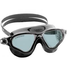 Cressi Cobra Swim Mask - Black/Smoked lenses