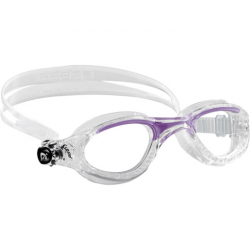 Cressi Flash Swim Goggle - Small Fit Lady - Clear/Lilac