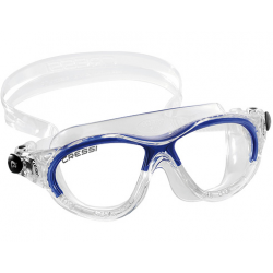 Cressi Cobra Kid Swim Mask - Clear/Blue