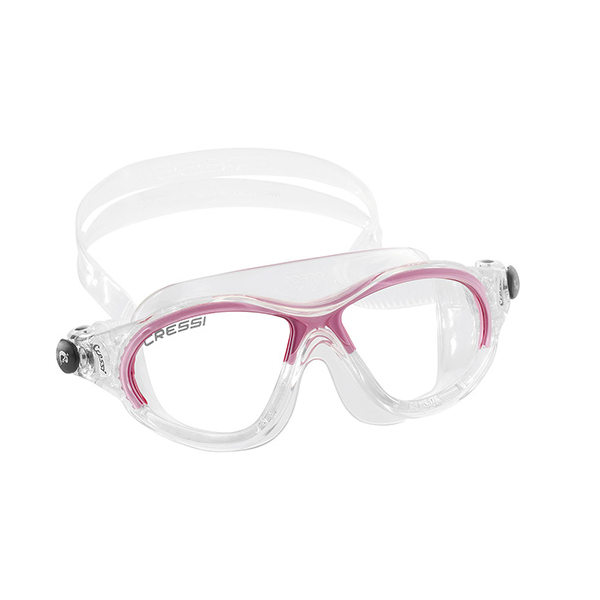 044cd521c89d Cressi Cobra Kid Swim Mask - Clear Pink
