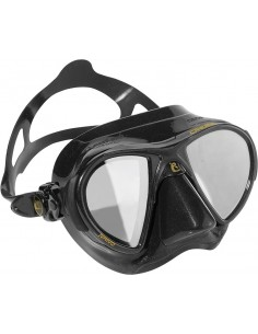 Cressi Mask - Nano - Black HD Mirrored Lenses