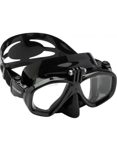 Cressi Mask - Action - Black
