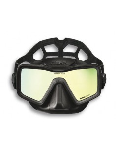 Omer Mask - Apnea monolens - Mirrored lens - Black