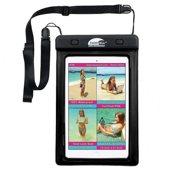 Swim Cell Waterproof Case - Small Tablet - Black