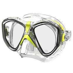 Seac Mask - Italia - Yellow Metal