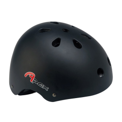 BMX Helmet - Matt Black 54/58cm