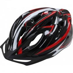 Apex Helmet L330 - Black/Red 54/58cm