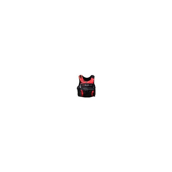 SOLA Overhead Buoyancy Aid - Scream - Red/Black